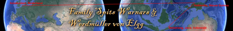 Family Spits Warnars - Werdmüller von Elgg